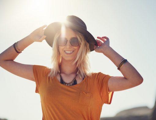 Óculos com proteção UVA e UVB